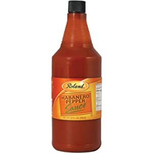 Roland Foods Habanero Pepper Sauce, Specialty Imported Food, 32-Ounce Bottle