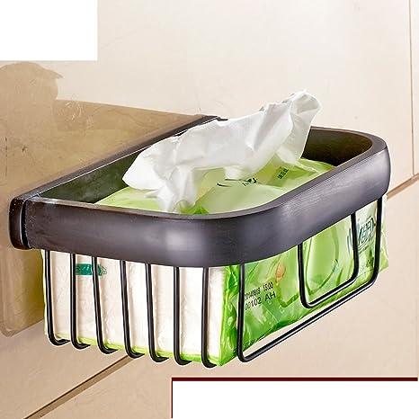 Cuarto de baño toallero/titular de papel higiénico/canasta pequeña toalla/canasta de