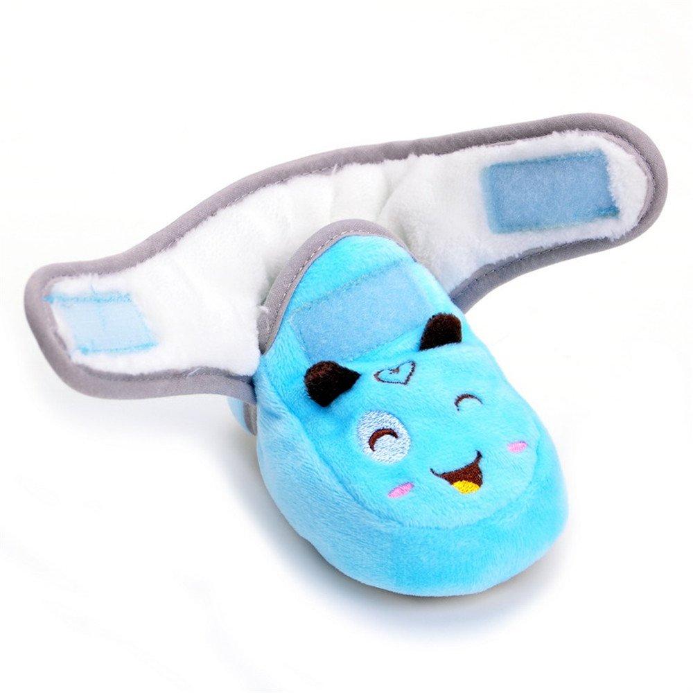 Zapatos de felpa cálidos para invierno para bebé niños niñas azul azul