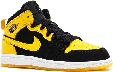 Nike Jordan Retro 1 Mid Black/Varsity