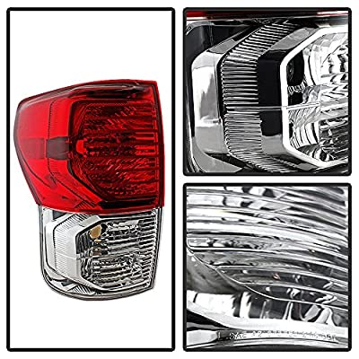 ACANII - For 2010-2013 Toyota Tundra Rear Replacement Tail Light - Passenger Side Only: Automotive