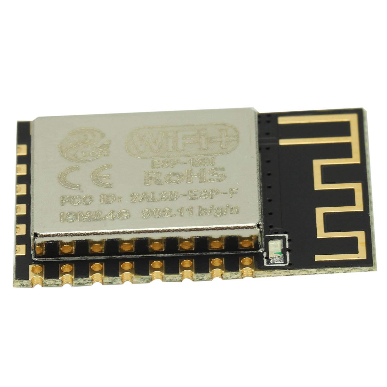 FTCBlock 2pcs ESP8285 ESP-M2 CH340 Development Board WiFi Serial Port Module CH340 Compatible with ESP8266