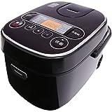 【Amazon.co.jp限定】SmartBasic 炊飯器 マイコン式 5.5合 極厚火釜 銅コート 銘柄炊き分け機能付き ブラック