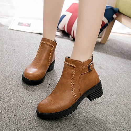 Place Plate Escarpins Cuisse Shoes Talon Boots Chaussures Kaki Rawdah Pumps forme Moto Femme À fqFxCAIwn