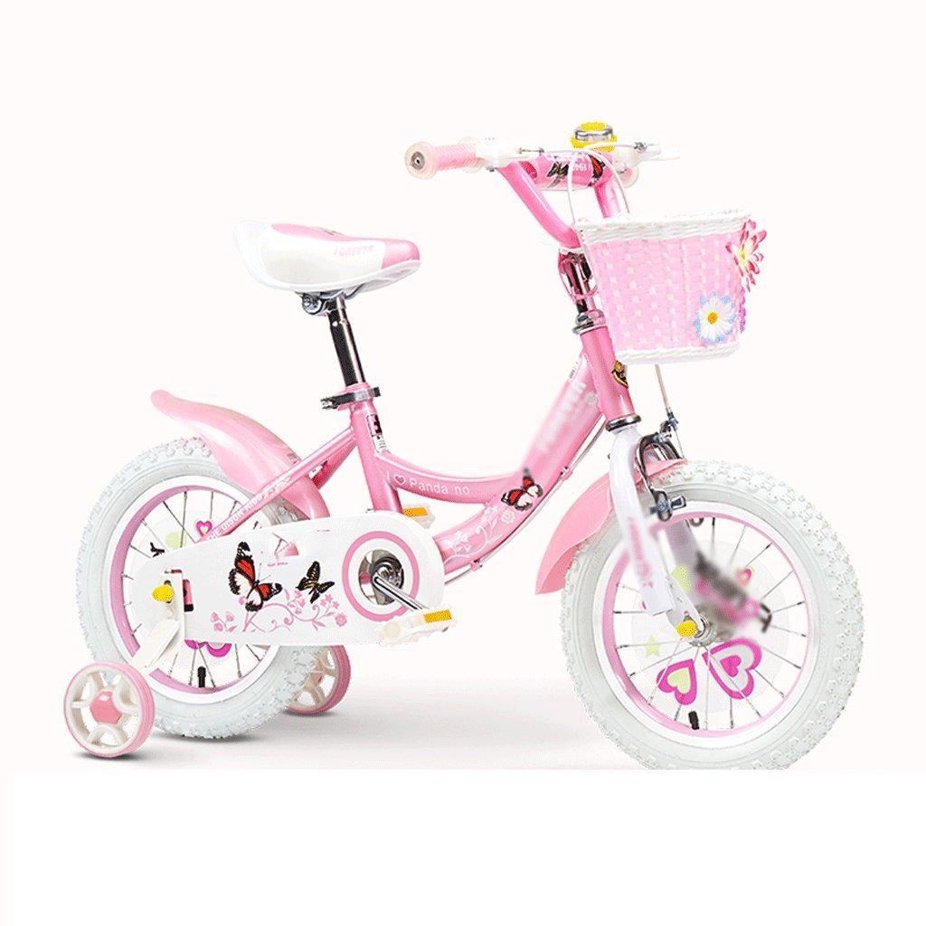 Duwen子供の自転車子供の自転車Girl 2 – 3 - 4 , – , 7 , – 8-9 – 10年古い赤ちゃんペダル自転車子ガールズベビーCarriage B07DZVK24Z 12 inch