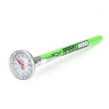 OEMTOOLS 24350 0-220 F Instant Read Pocket Thermometer