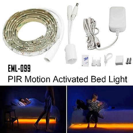 motion activated bed light emotionlite led motion sensor bedside