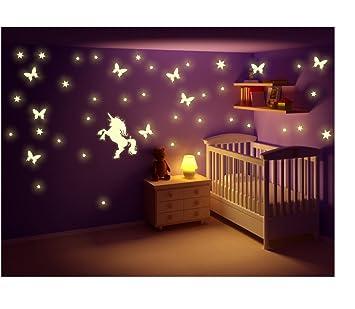 wandtattoo sterne leuchten reuniecollegenoetsele. Black Bedroom Furniture Sets. Home Design Ideas