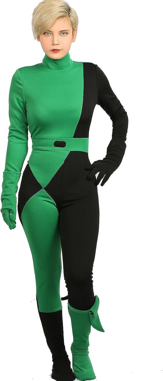 Xcoser Kim Posible Shego Mono Deluxe Cosplay Disfraz Mujer - Multi ...