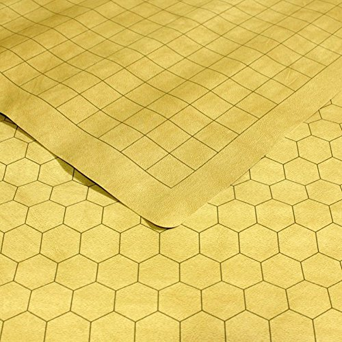 Chessex Role Playing Play Mat: Battlemat Double-Sided Reversible Mat for RPGs and Miniature Figure Games (26 in x 23 1/2 in) ()