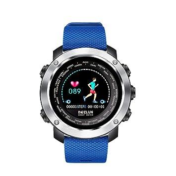 Pareja Reloj Bluetooth Inteligente Para Hombres Mujeres Podómetro Salud Monitor De Ritmo Cardíaco Recordatorio Gimnasio Rastreador Multifunción Impermeable ...