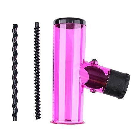Secador de profesional, ✿ luoluoluo ✿ Magic Air de cabello secador Spin rollo fácil viento Cap ...