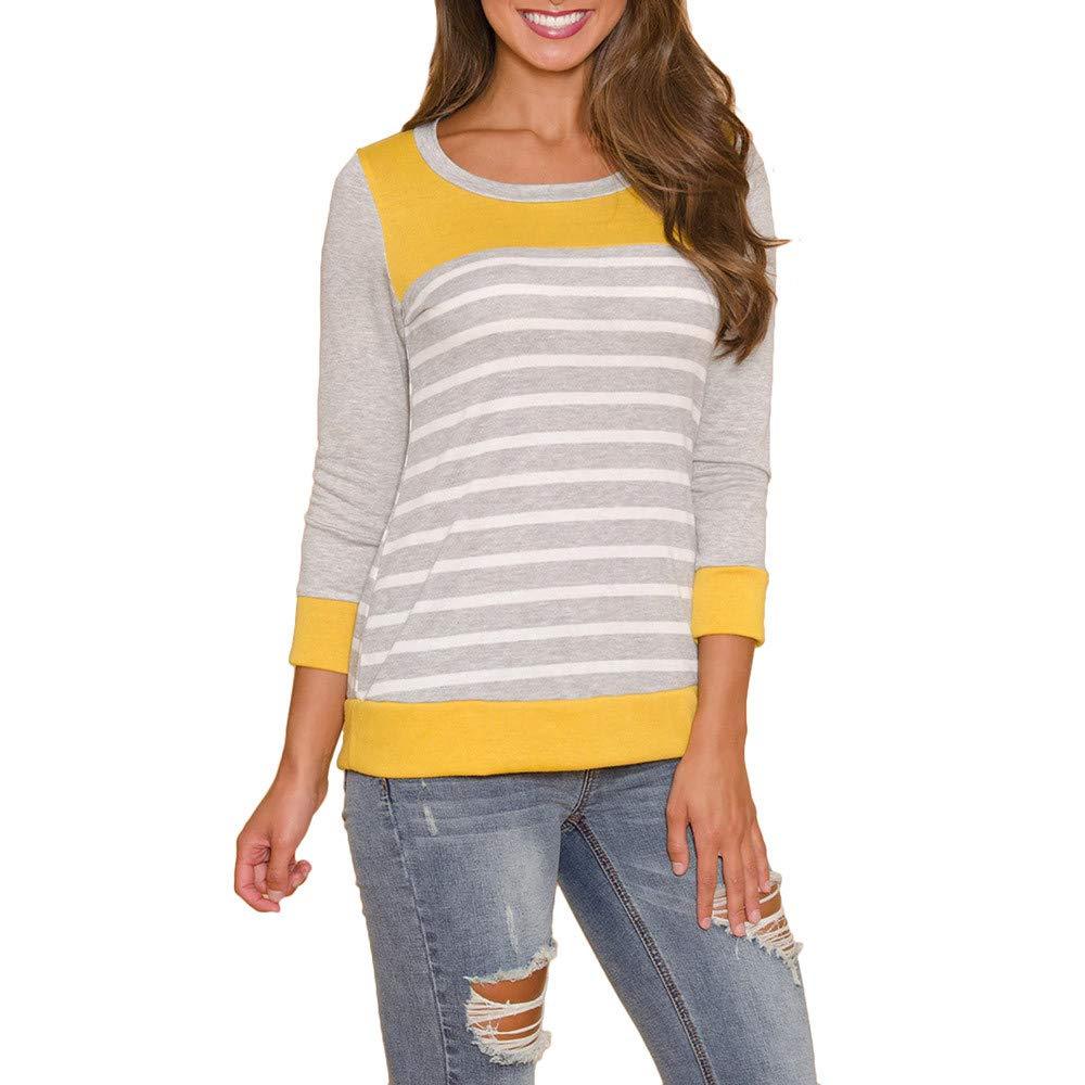 SamMoSon Summer Funny Crewneck Cat Print T-Shirt Tops Tee Shirts Blouse