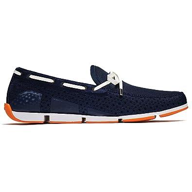 Men's SWBREEZELOAFERNAVY Blue Fabric Loafers