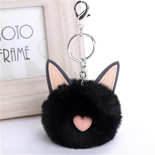 artistic9 (TM) 8 cm de pompones de diseño de orejas de gato ...