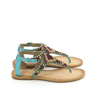 9233eda9f0a KOALA BAY Tongs pour femme turquoise - - turquoise