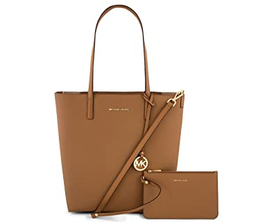 fd977970313c Image Unavailable. Image not available for. Color: MICHAEL MICHAEL KORS  Hayley Large Convertible Tote (Acorn/Oyster)