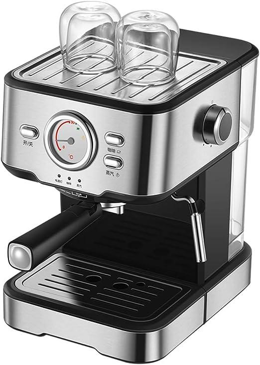 Cafetera Espresso máquina semiautomática del hogar visualización ...