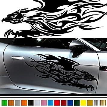 Amazoncom Falcon Car Sticker Car Vinyl Side Graphics Pre Car - Cool car decals designcar foil hood stickerscustom car body side sticker design buy