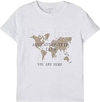 NAME IT Nkmflorek LS Top Camiseta para Niños