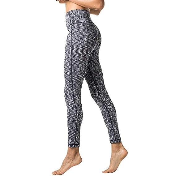 Pantalones de Yoga para Mujer - Cintura Alta Tight Medias ...