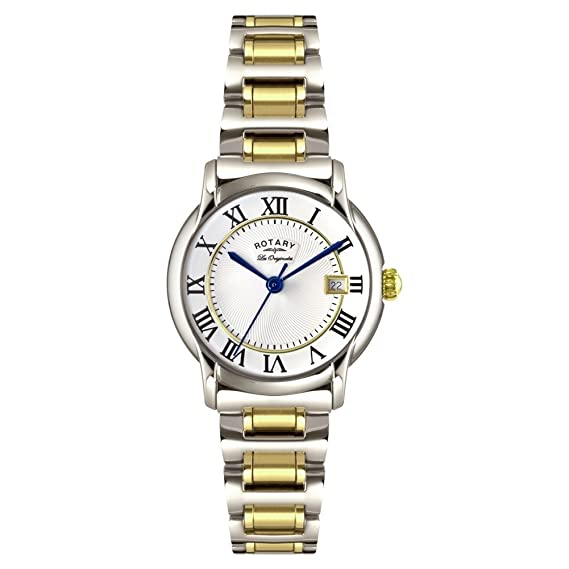 Rotary LB90141/06 - Reloj de Pulsera Mujer, Acero Inoxidable ...