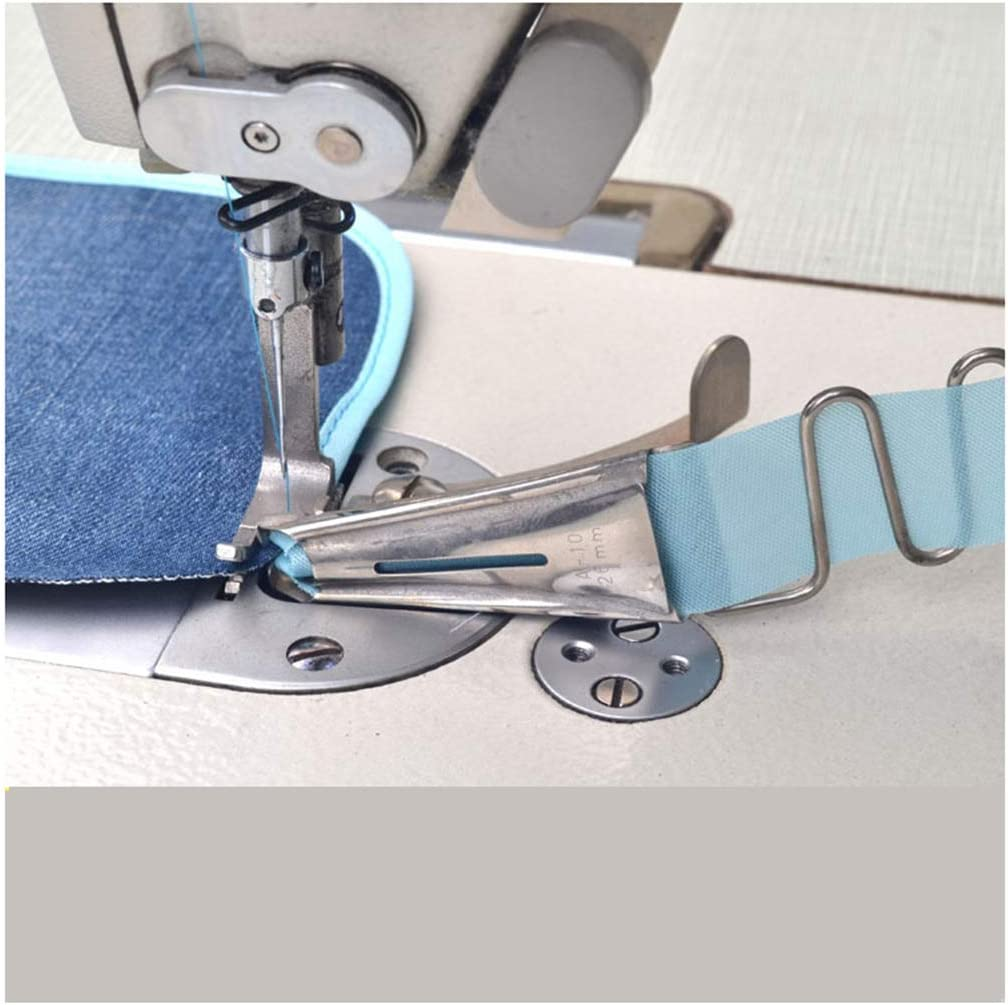 CKPSMS Brand Tape Size: 28mm -Industrial Sewing Machine Double Fold Right Angle Binder Set S60#A10 1PCS
