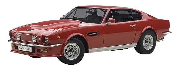 AUTOart 70222 - Aston Martin V8 Vantage - 1985 - Escala 1/18 - rojo: Amazon.es: Juguetes y juegos