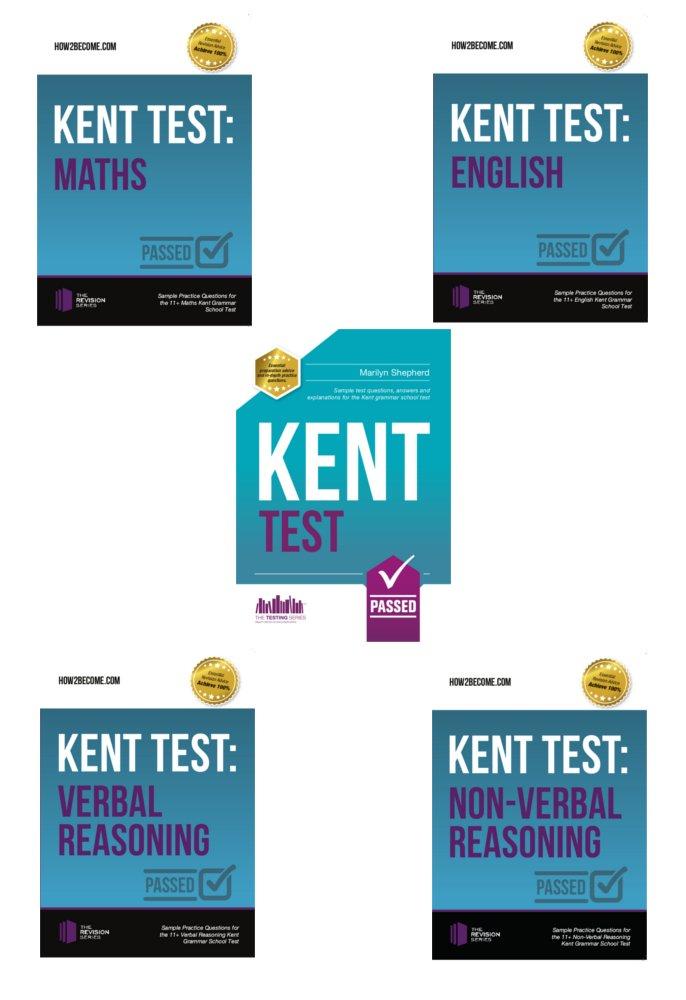 Download 11+ Kent Test 5-Book Revision Guide Bundle: Pass the Kent Grammar School Suitability Test PDF