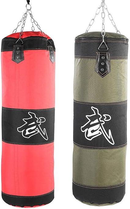 Sold Un-Filled TARGETS PUNCH BAG BOXING BAG Boxing Kickboxing Martial Arts 3ft Punch Bag 1-6 Strike Targets