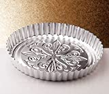 Italo Ottinetti Round Shaped Baking-Pan 26 cm, Metallic, One Size