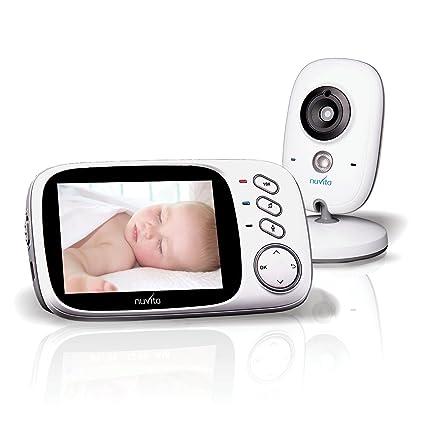 Vigilabebé Inalámbrico Con Camera Nuvita 3032 – Vigilabebés Monitor Digital - Imágenes Sonidos y Movimiento -