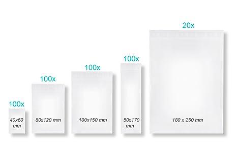 420 unidades Impresión Bolsas con cierre FolderSys bolsas ...