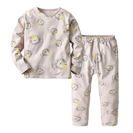 61b7bdd5b788 Amazon.com  AutumnFall 2-6Y Kids Pajama Sets Boys Cartoon Sheep ...