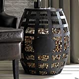 Barrel Cork Catcher Side Table