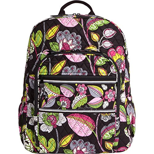 Bloom Window Windows (Vera Bradley Campus Backpack (Moon Blooms))