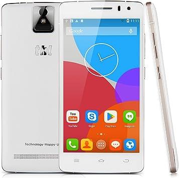 THL 2015 - Smartphone Libre 4G Android 4.4(Octa Core, ID Huellas Dactilares, Ram 2G, 16G Rom, Pantalla 5