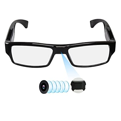 4038a9a6608 Amazon.com   Spy Camera Glasses with Video Support Up to 32GB TF ...
