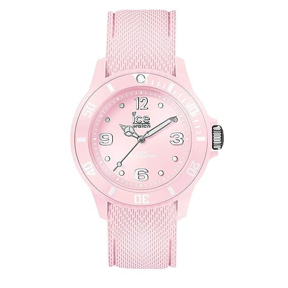 Ice Watch Sixty Nine Damenuhr Silikonarmband Pink Rosa Pastel Mit xoeBCrdW