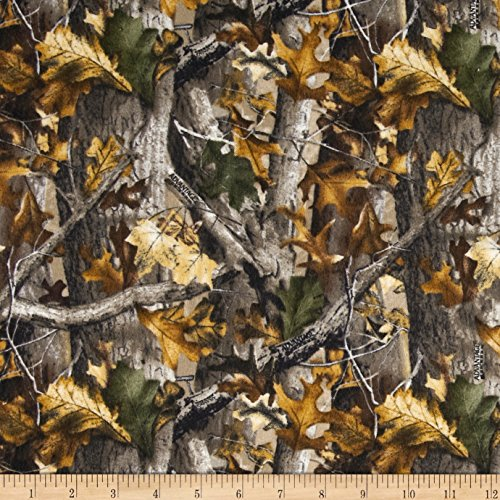 Camouflage Flannel (Realtree Flannel Oak Camouflage Fabric By The Yard)