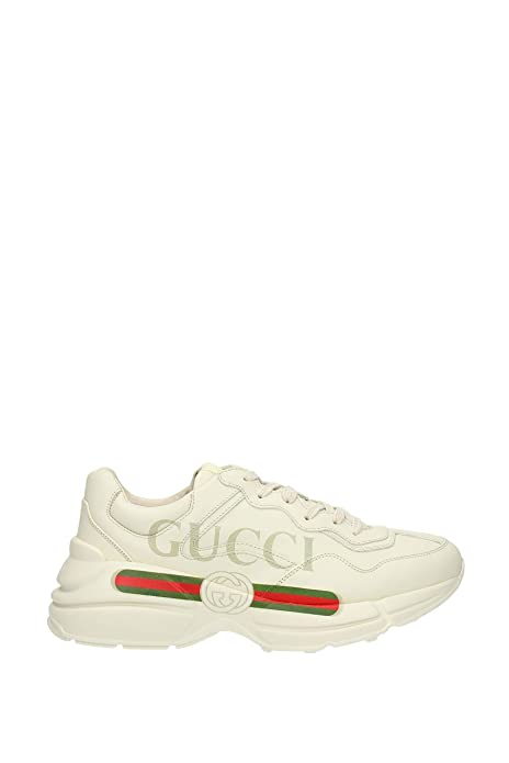 Sneakers Gucci Hombre - Piel (500877DRW00) EU  Amazon.es  Zapatos y  complementos 6fe4e043324
