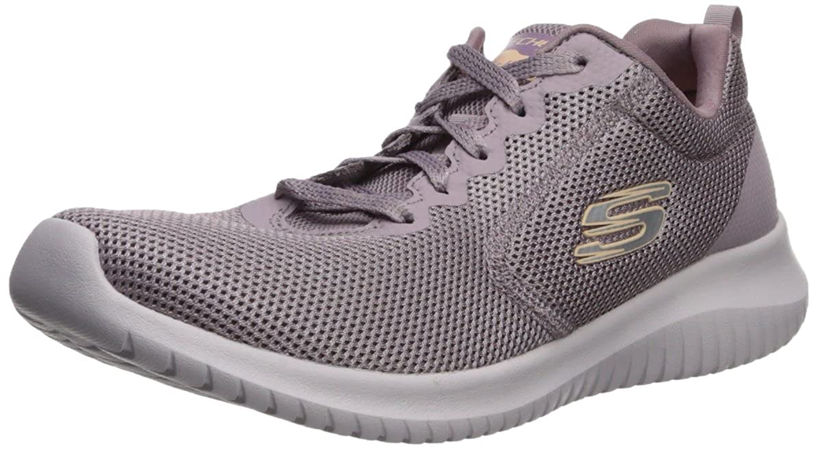 Purple Skechers Womens Ultra Flex - Free Spirit Sneaker