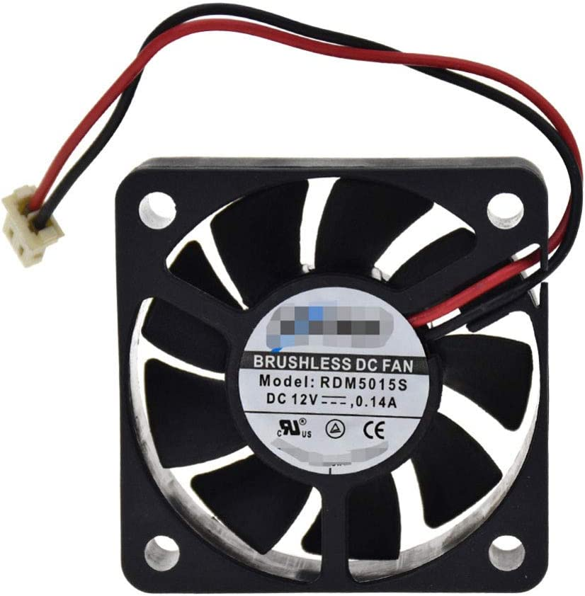 for XFAN RDM5015S 12V 0.14A 505015MM 2pin for Samsung DVD Player Cooling Fan Processor Cooler Heatsink Fan for Computer