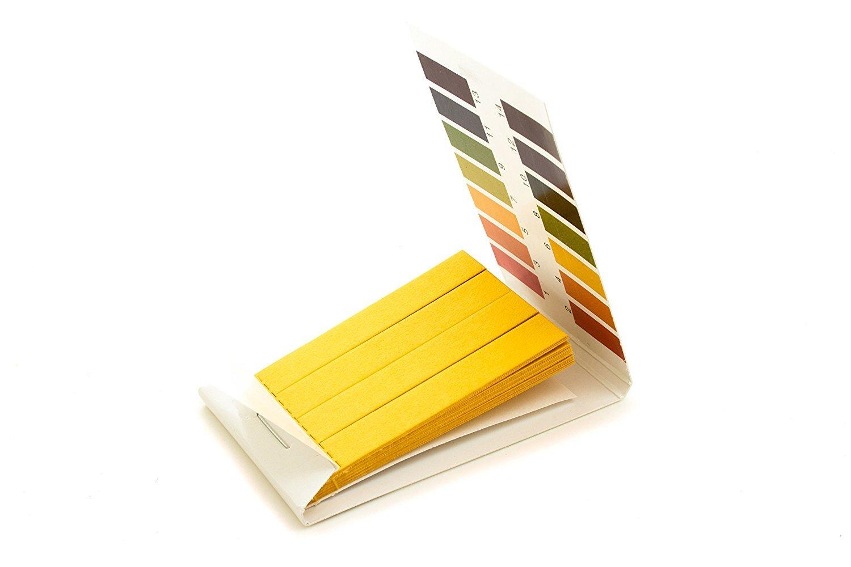 tornasol tiras de prueba de pH, uso universal (PH 1 - 14), 2 paquetes de 100 tiras: Amazon.es: Amazon.es