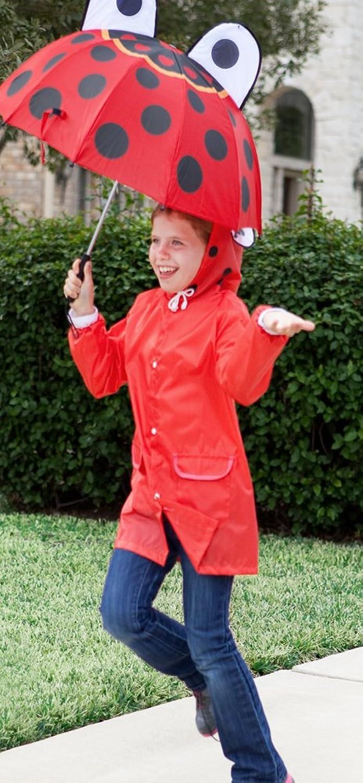 amazon com cloudnine children u0027s ladybug umbrella full size