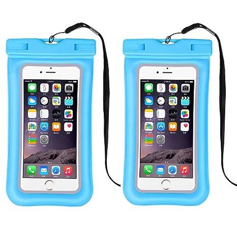 Flotante, funda resistente al agua, universal teléfono móvil Dry ...