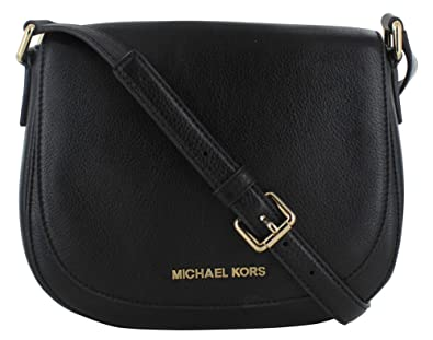 new varieties distinctive design undefeated x Michael Kors Bedford Women's Crossbody Bag Purse Leather Black