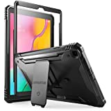 Galaxy Tab A 10.1 Rugged Case with Kickstand, Built-in-Screen Protector, Revolutions, Poetic Full Body Heavy Duty Shockproof