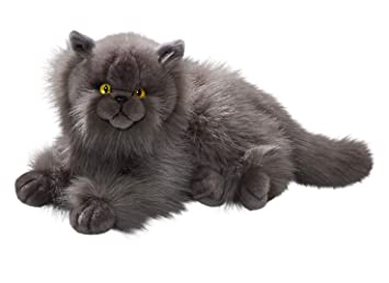 Amazon.com: Cat, Persian Grey, 12 inches, 30cm, Plush Toy, Soft Toy, Stuffed Animal 3433: Toys & Games