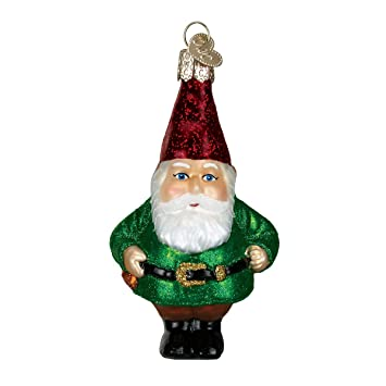 Old World Christmas Ornaments: Gnome Glass Blown Ornaments for Christmas  Tree - Amazon.com: Old World Christmas Ornaments: Gnome Glass Blown